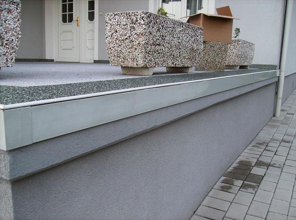 Natursteinteppich Steinteppich Terrassenbelag Balkonabdichtung
