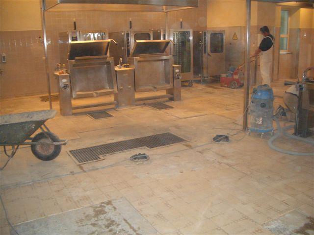 Kunstharzboden Kuchenboden Industrieboden Steinteppich